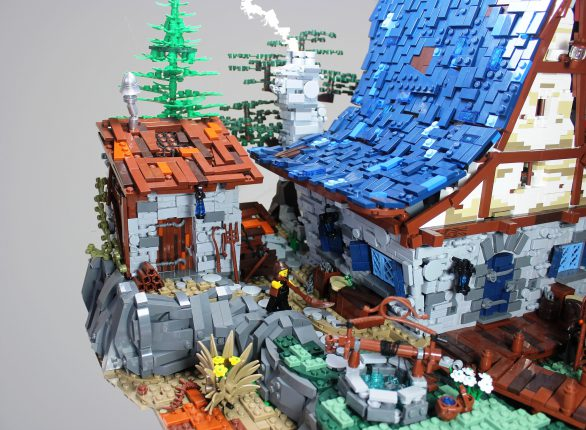Veel Bouwplezier - MOC The Old Watermill