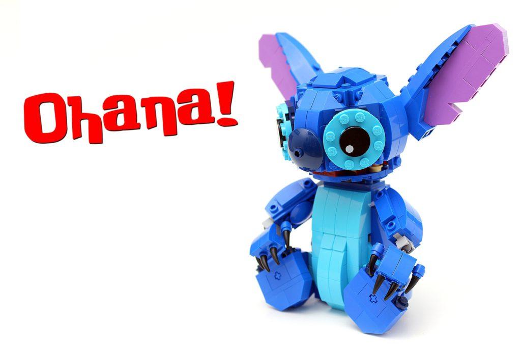 Veel Bouwplezier!   LEGO Stitch Ohana