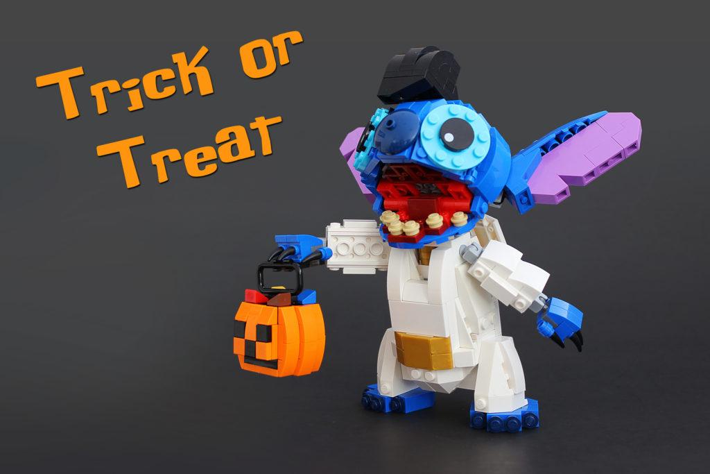 Veel Bouwplezier!   LEGO Stitch Trick or Treat