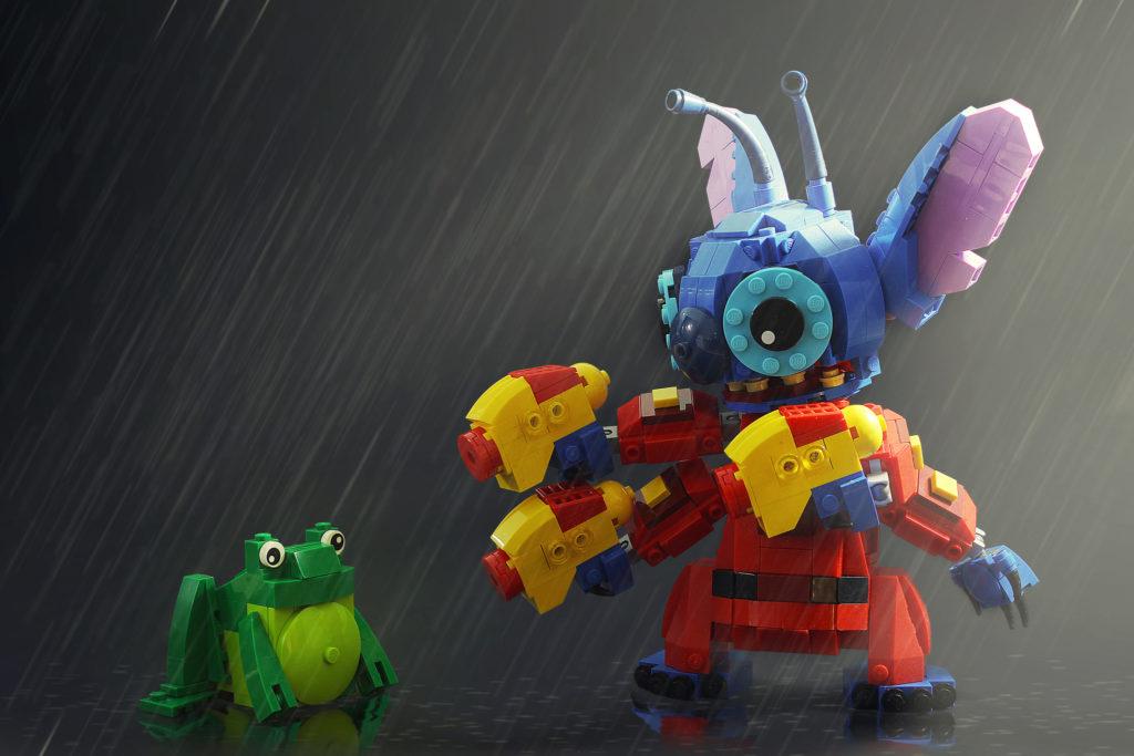 Veel Bouwplezier!   Stitch LEGO