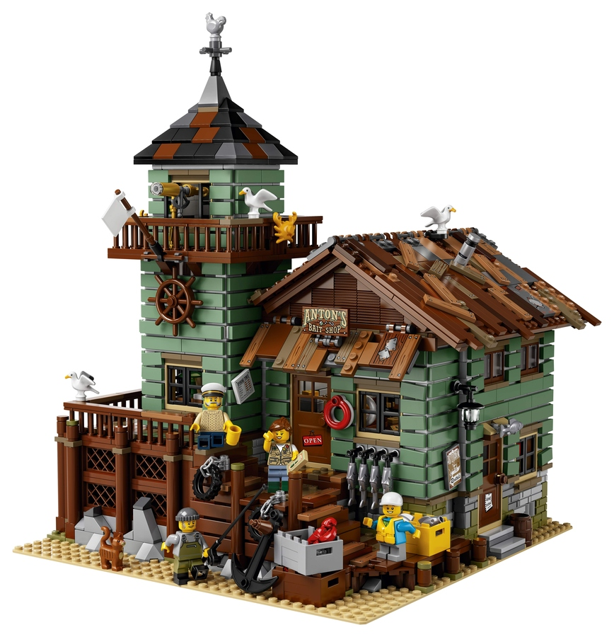 LEGO Ideas Old Fishing Store