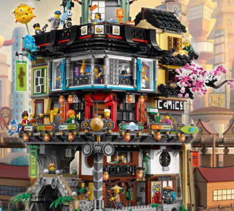 LEGO Ninjago 70620 NINJAGO City set