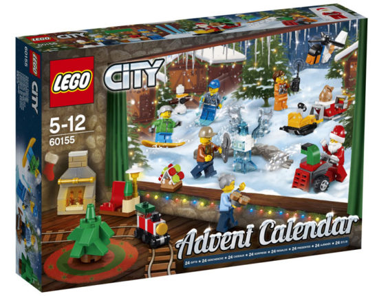 Advent kalender 2017 LEGO City