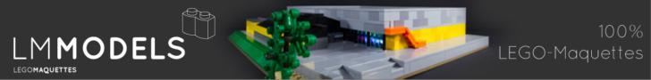 LEGO Maquettes advertentie