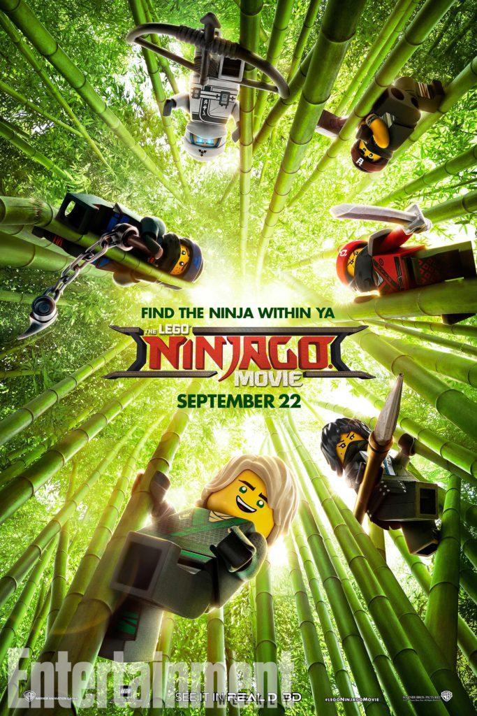 Officiele LEGO ninjago film poster
