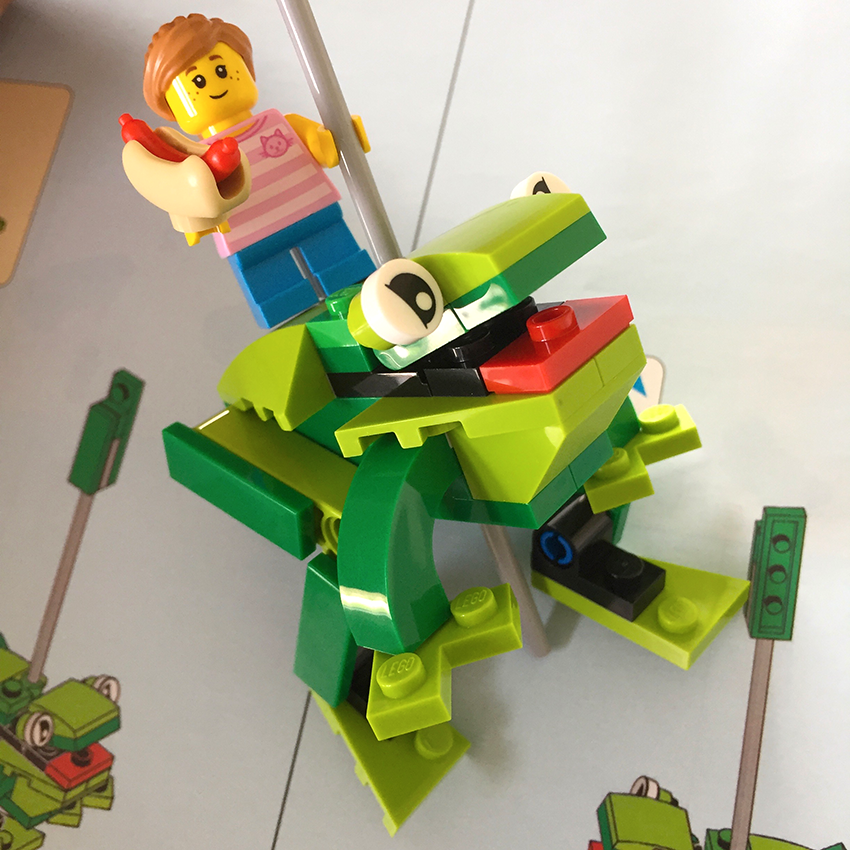 lego draaimolen | kikker