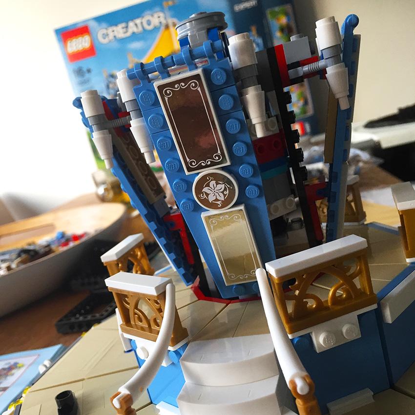 lego draaimolen | detail