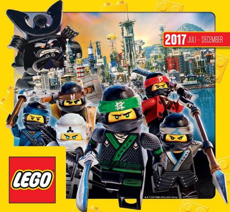LEGO Catalogus juli-december 2017