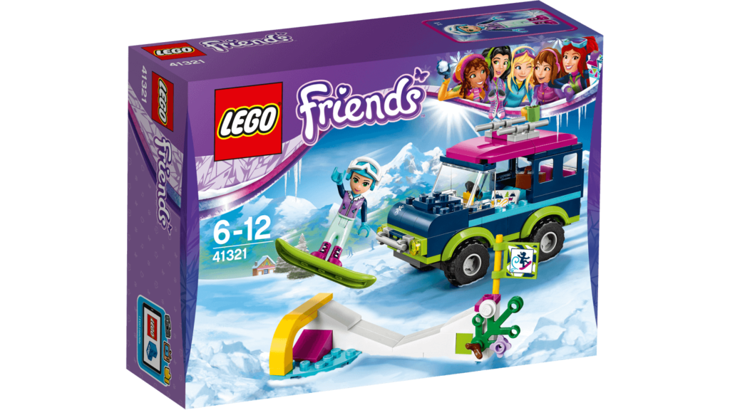 wintersport sets 2017 lego friends veel bouwplezier