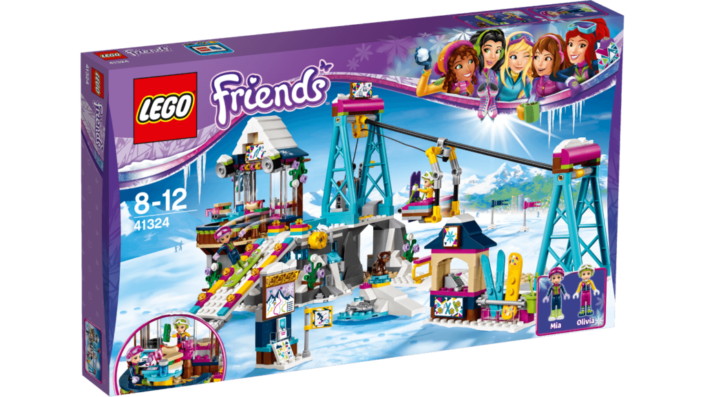 Wintersport set LEGO Friends 41324