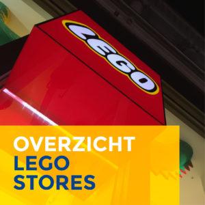 veel bouwplezier | overzicht LEGO-stores