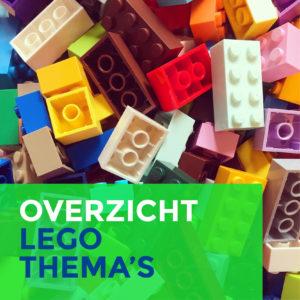 overzicht lego thema's