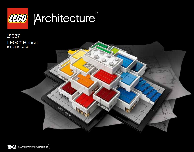 veel bouwplezier - LEGO Architecture - LEGO House 21037