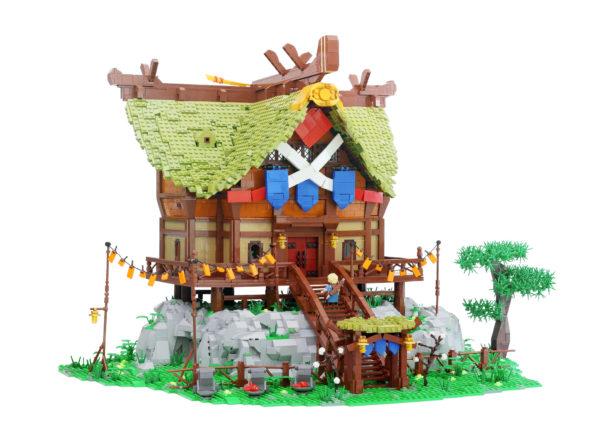 Veel Bouwplezier - Zelda LEGO MOC - Impa's House