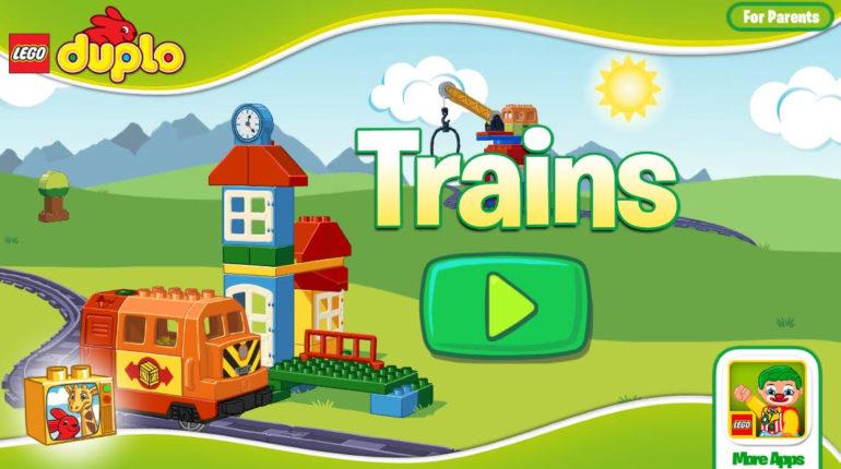 App LEGO Duplo Trains