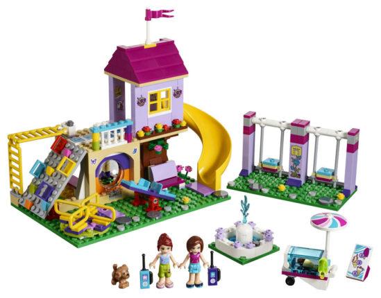 LEGO Friends heartlake city playground