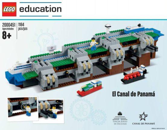 Panama kanaal LEGO