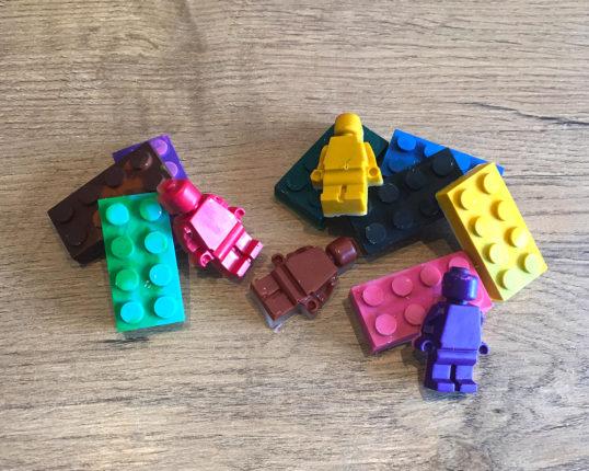 krijtjes van LEGO - Veel Bouwplezier