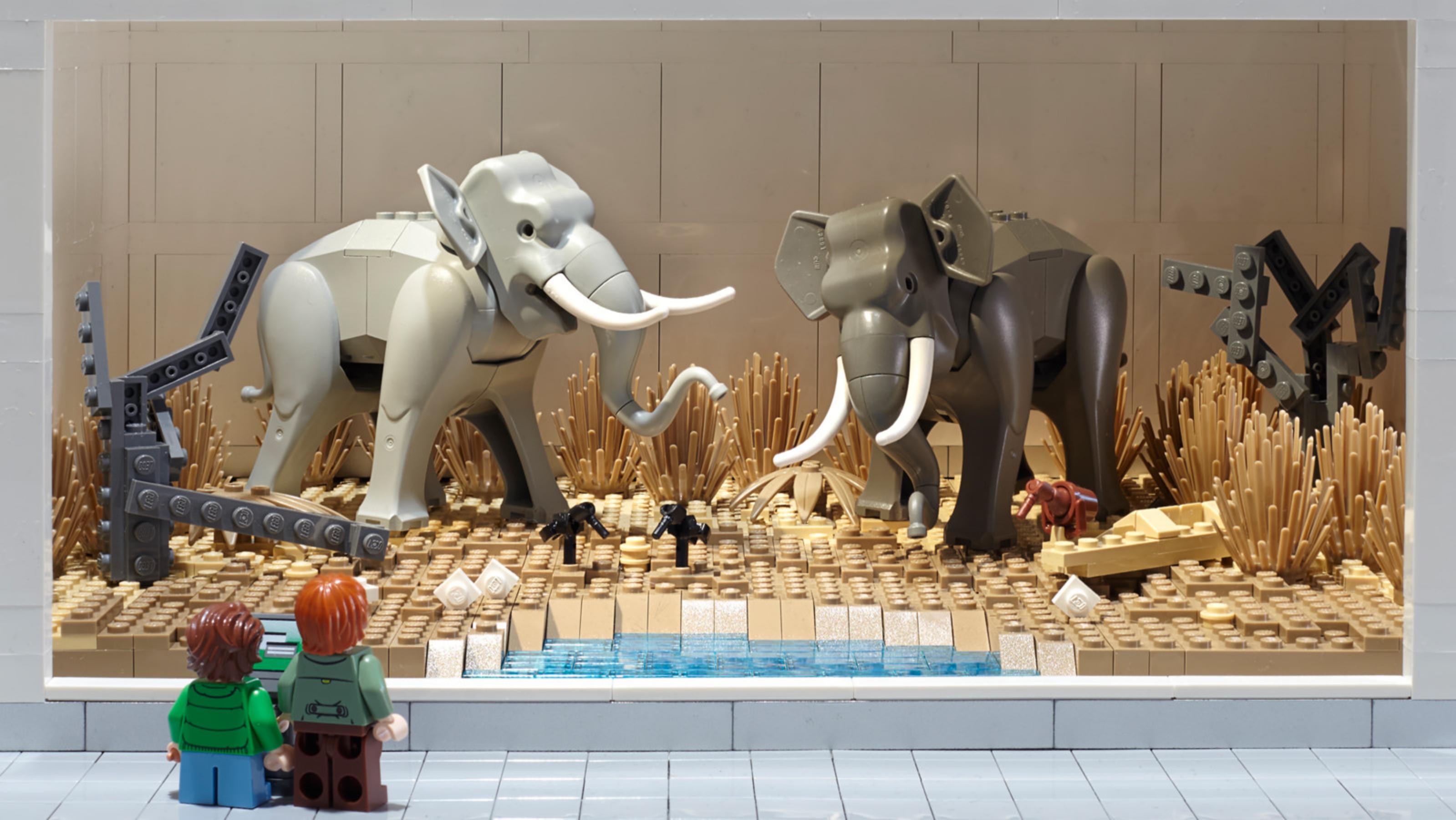 LEGO Olifanten MOC - veel bouwplezier