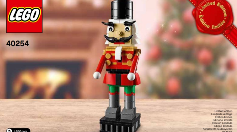 LEGO Kerst kado | LEGO Nutcracker | 40254 Veel Bouwplezier