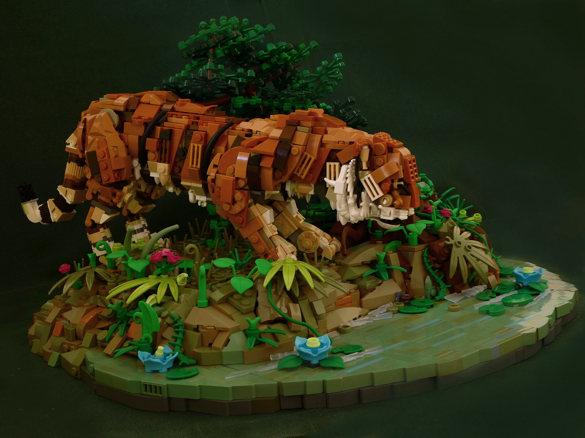 LEGO Tijger MOC Simon NH - Veel Bouwplezier