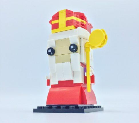 Sinterklaas LEGO brickhead