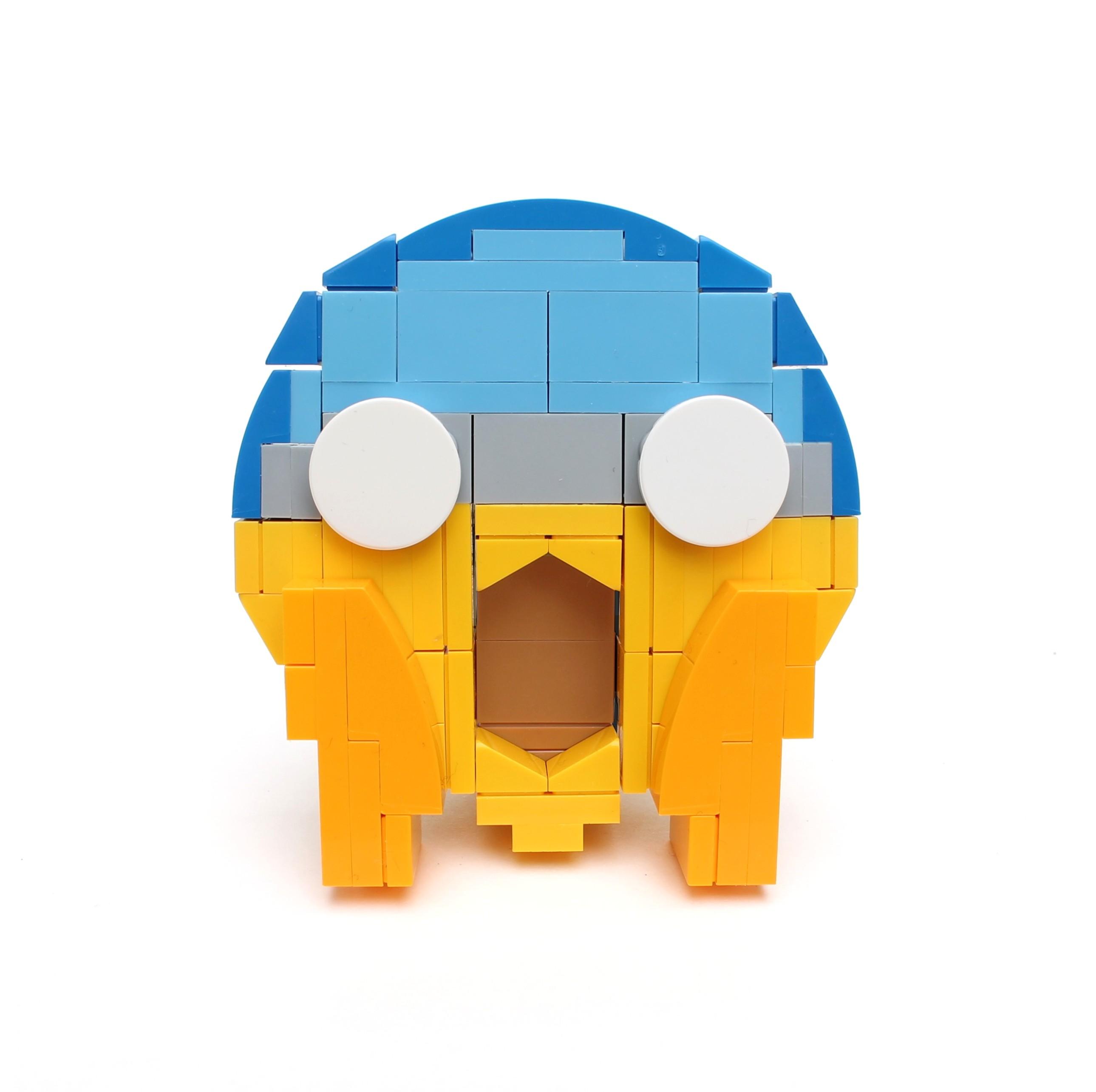 Brick-moji - Face screaming in fear