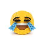 Brick-moji - Face with tears of joy