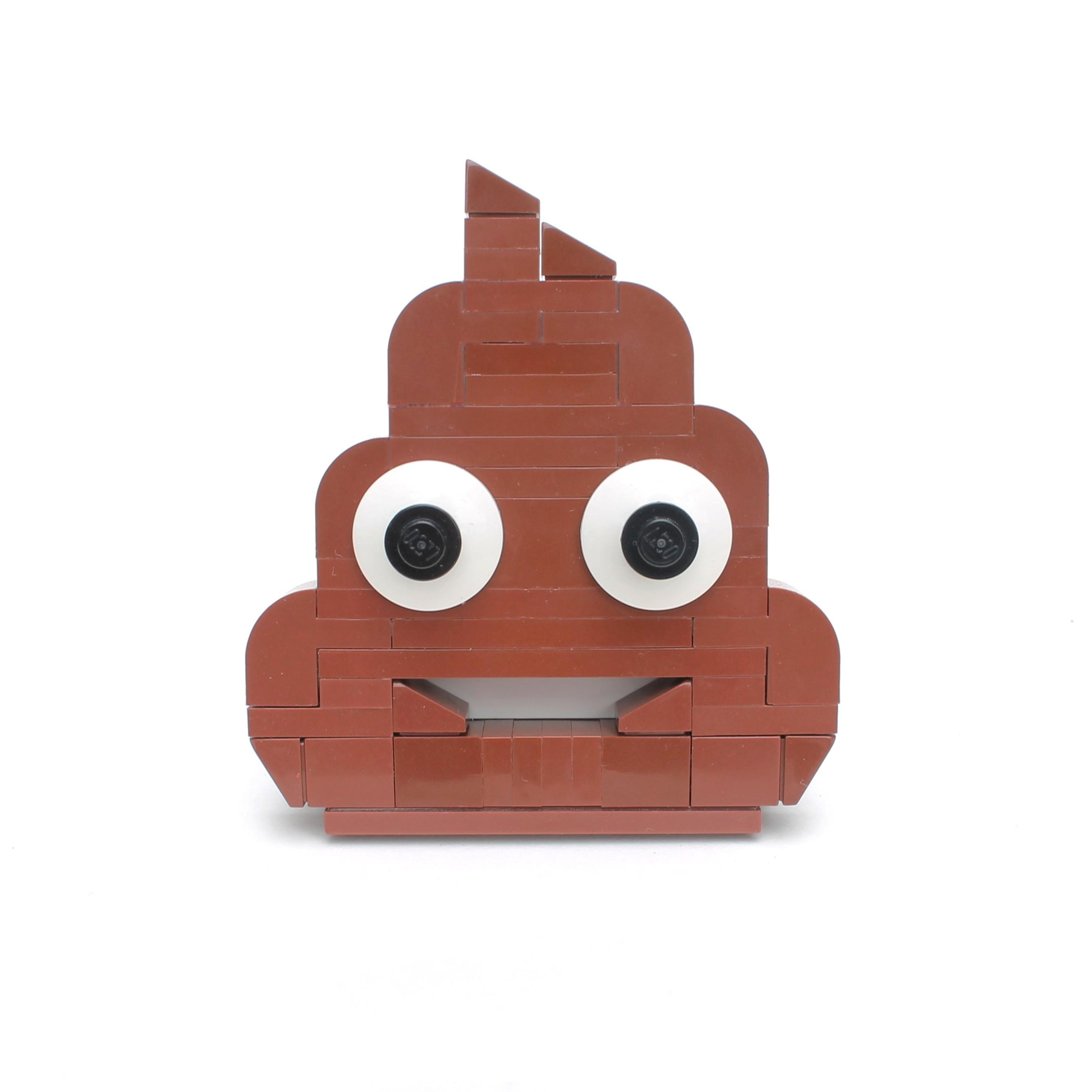 Brick-moji - Pile of poo