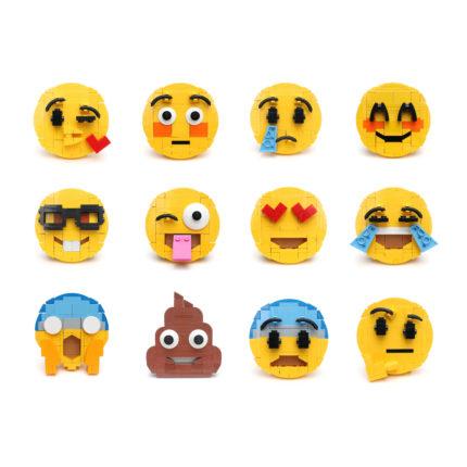LEGO emojis van Iain Heath - MOC VBP
