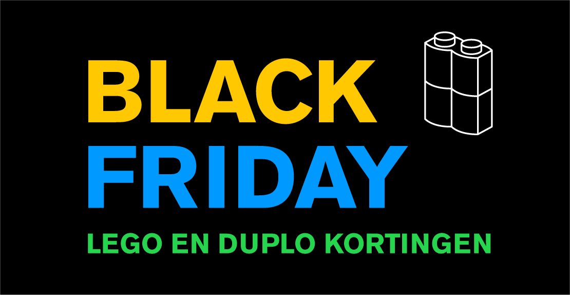 Black friday LEGO en DUPLO korting