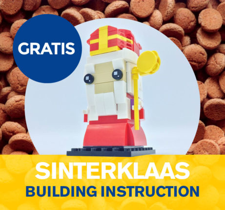 Sinterklaas LEGO gratis instructies