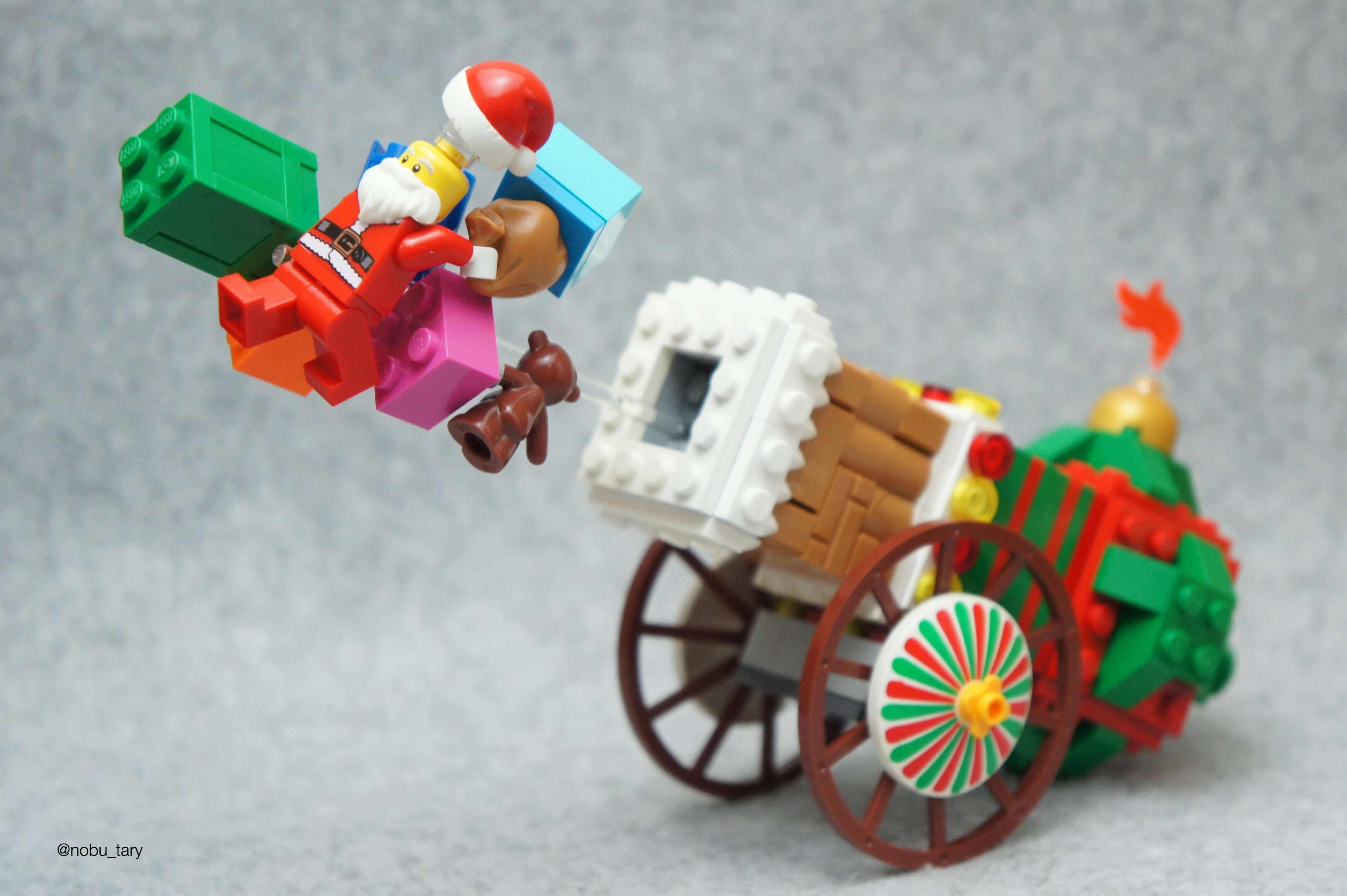 LEGO Christmas 2016 van nobu-tary