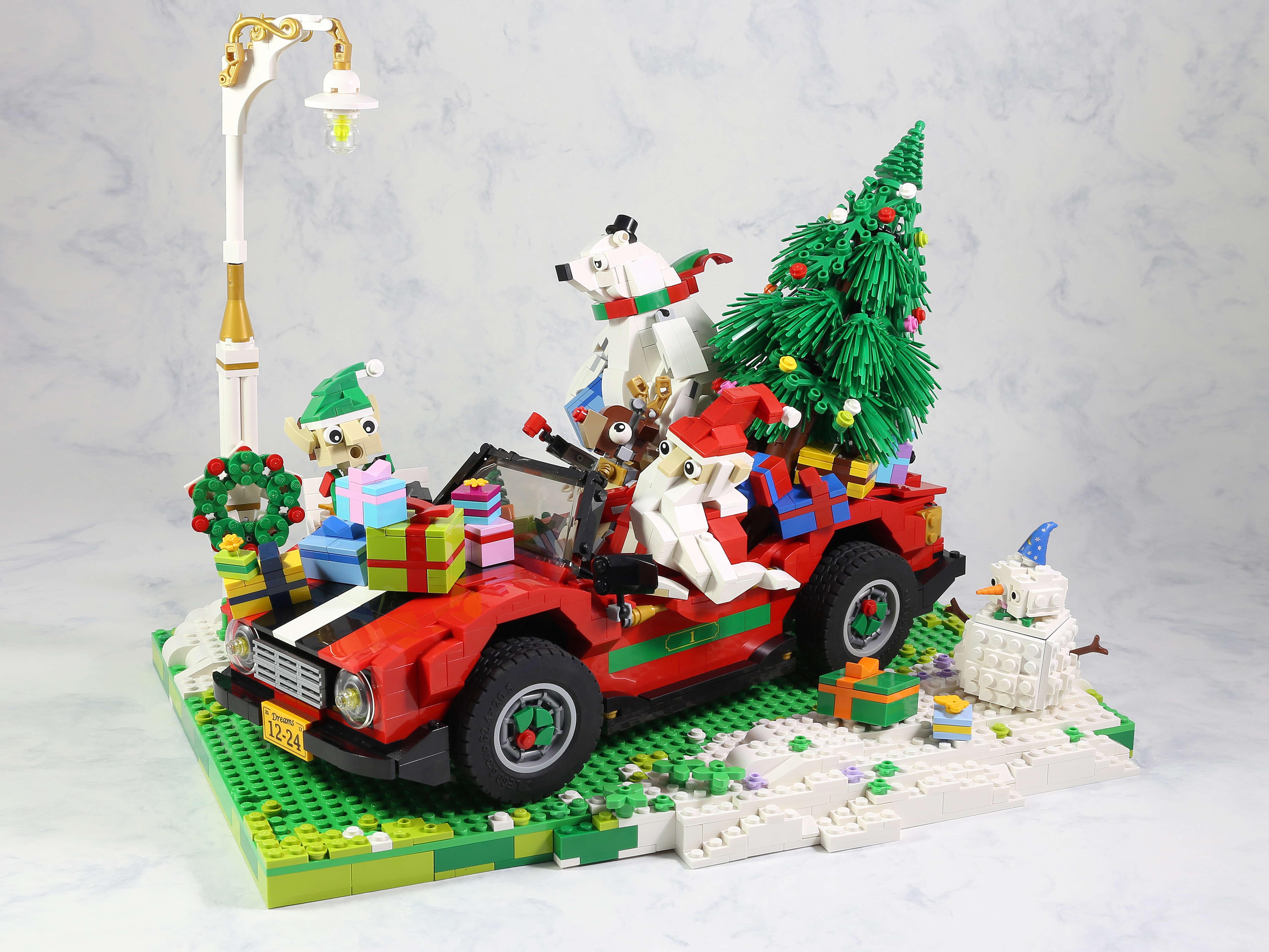 LEGO Kerst creaties - veel bouwplezier
