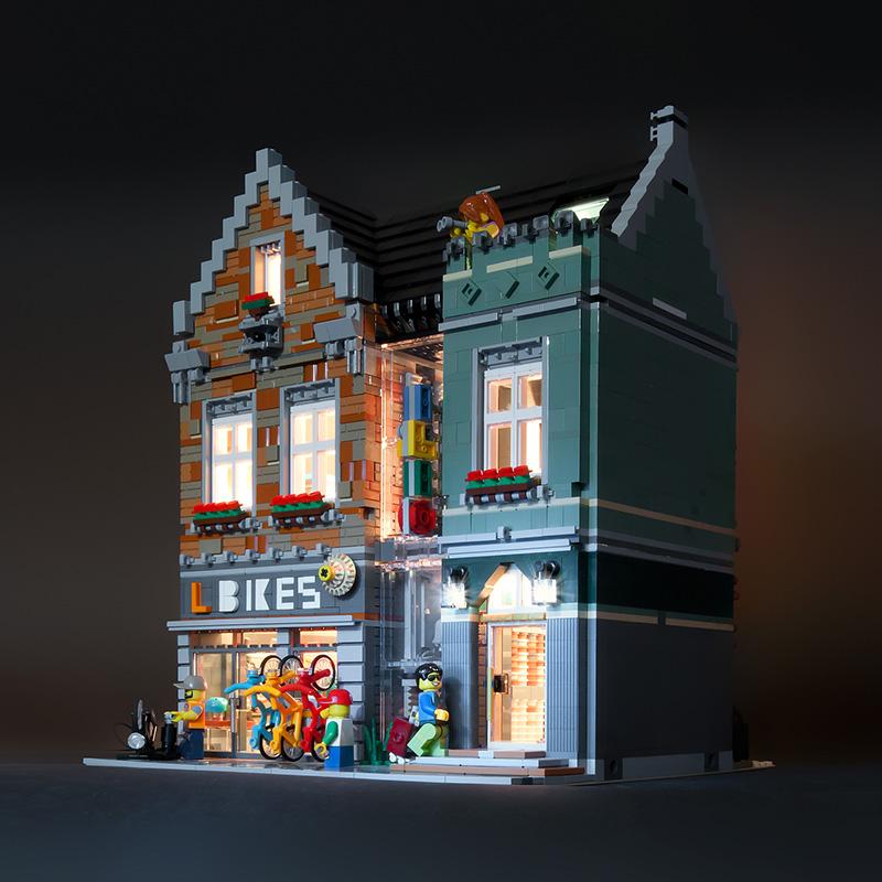 LEGO Fietsenwinkel Modulair