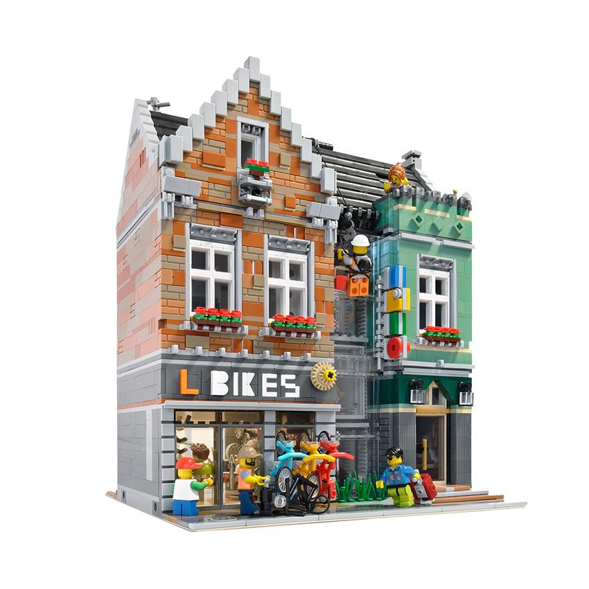 LEGO Fietsenwinkel Veel Bouwplezier