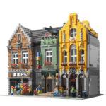 LEGO Fietsenwinkel en LEGO IJssalon MOC