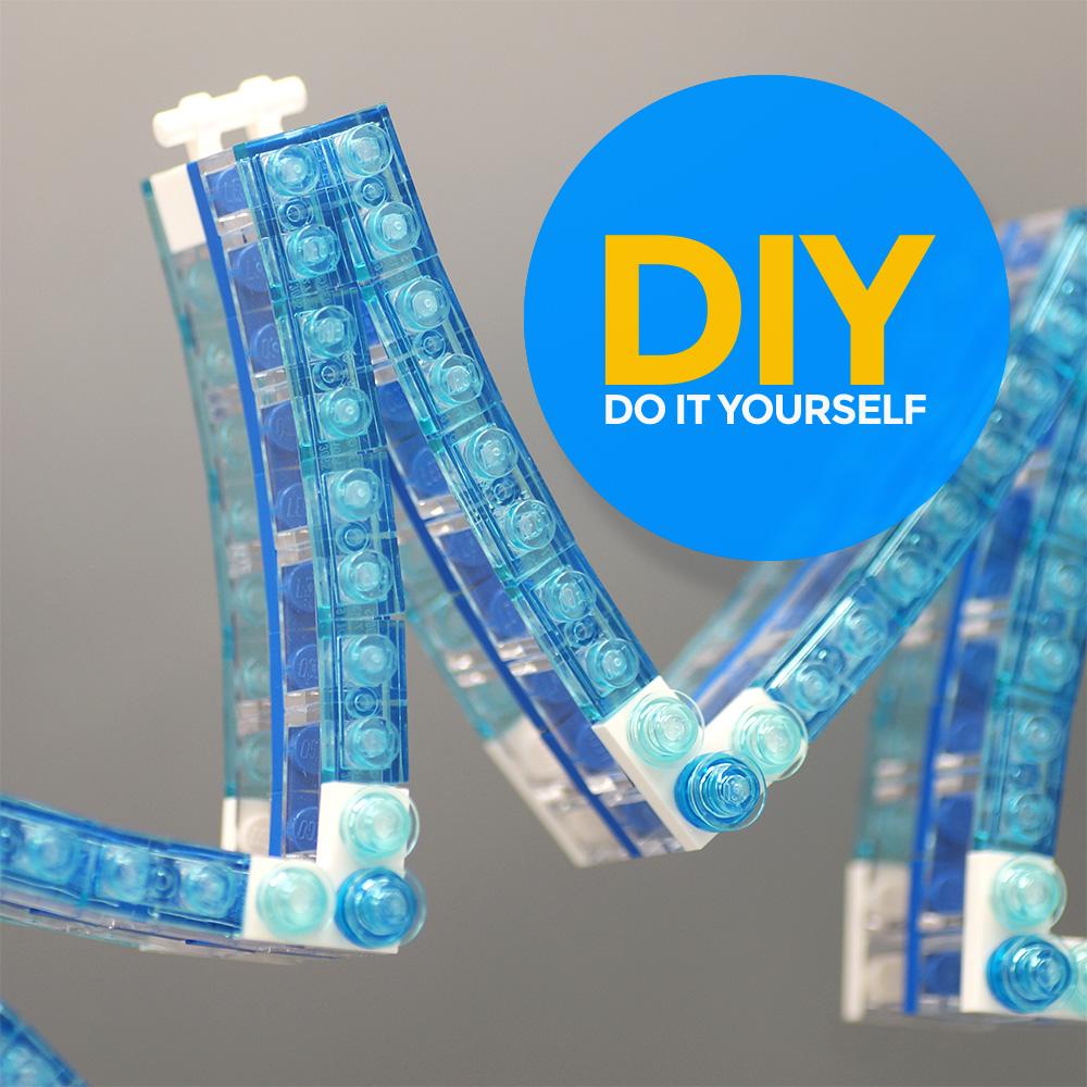 LEGO Kerst Decoratie DIY VBP
