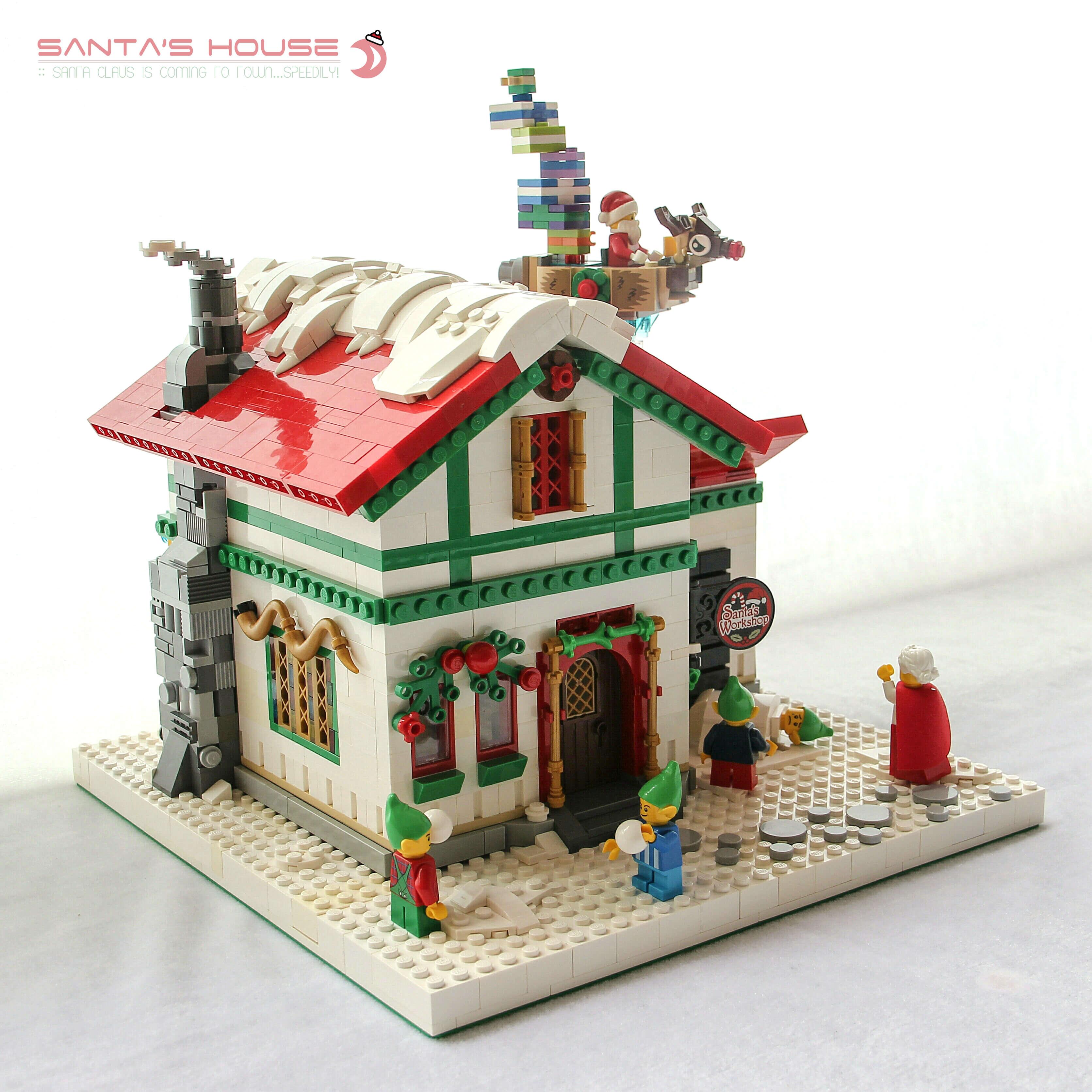 LEGO Kerst huis
