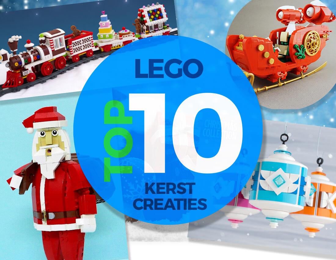 Top 10 LEGO Kerst Creaties Veel Bouwplezier