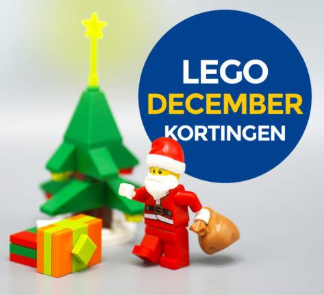LEGO aanbiedingen december