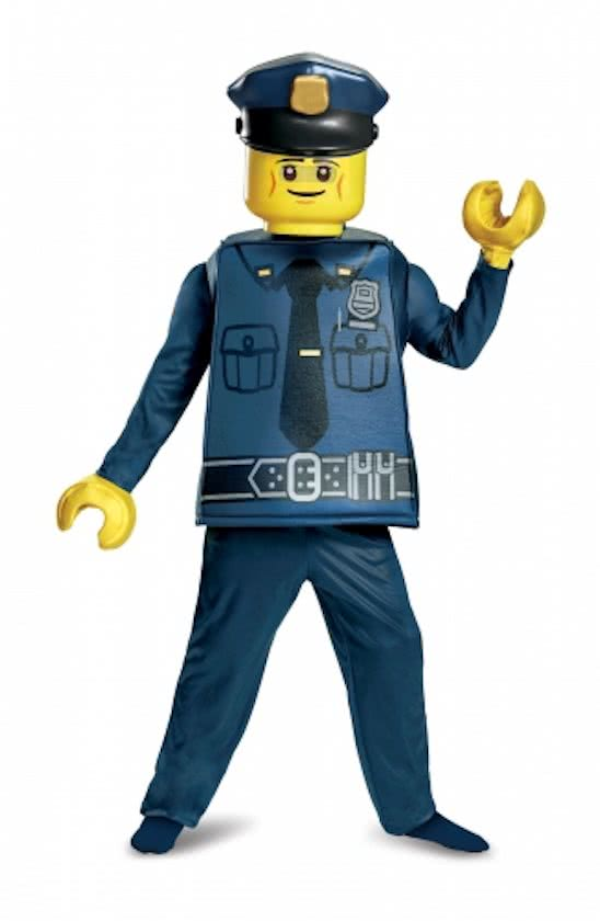 Carnaval kostuum LEGO Politie