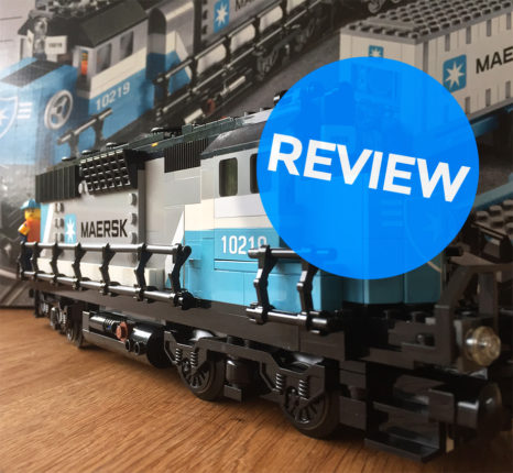 LEGO Maersk Trein Review