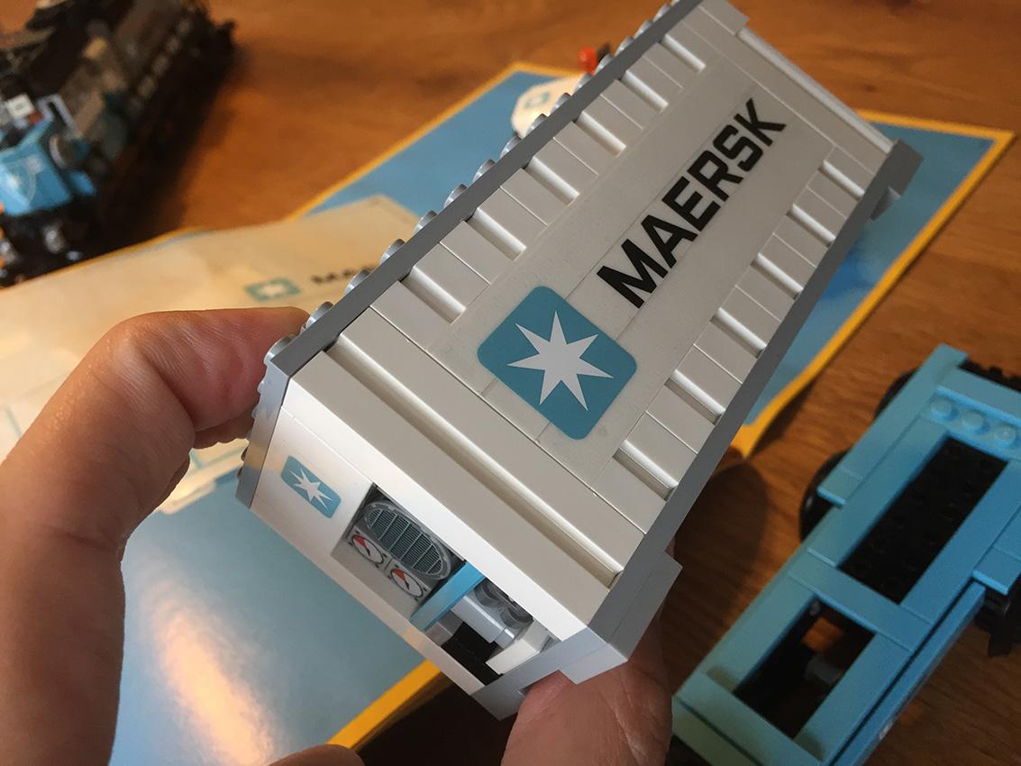 LEGO Maersk Trein container