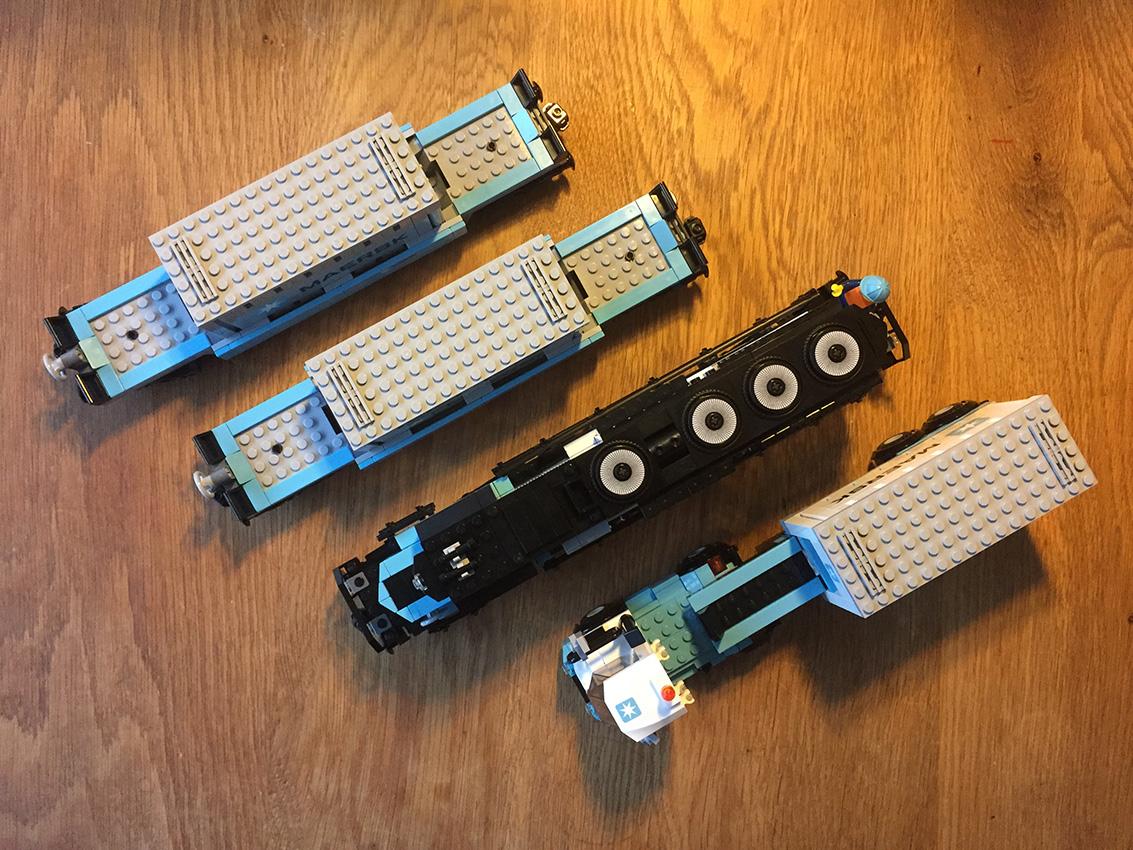 LEGO Maersk Trein overzicht