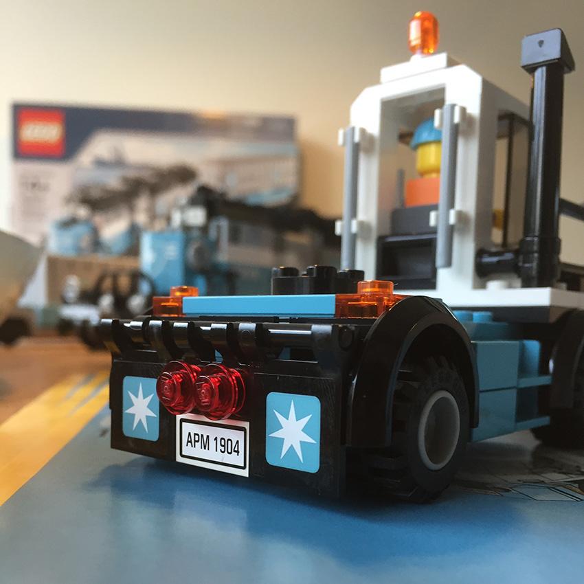 LEGO Maersk Trein wagen