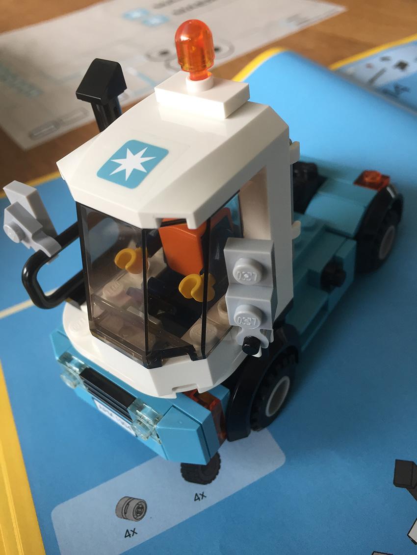 LEGO Maersk Trein wagen0