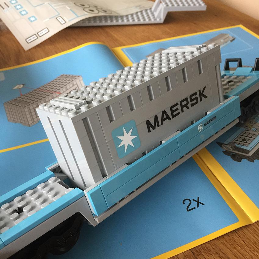 LEGO Maersk Trein wagon