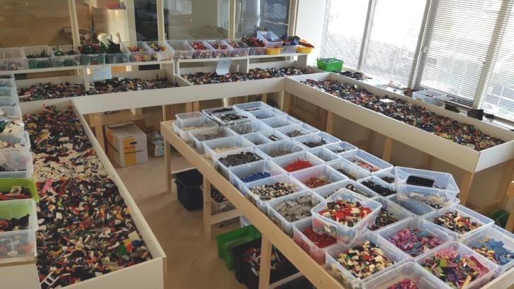 LEGO scheppen Hardinxveld