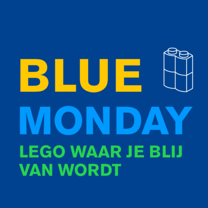 Blue Monday LEGO